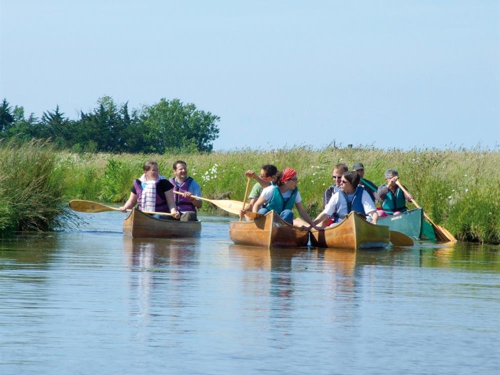 La route du sel en cano camping 3 toiles vend e - Office du tourisme de st jean de monts ...